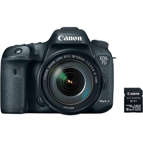 دوربین عکاسی کانن Canon 7D Mark II با لنز 135-18 IS USM