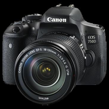 دوربین عکاسی حرفه ای کانن Canon EOS 750D 18-135 Japan STM