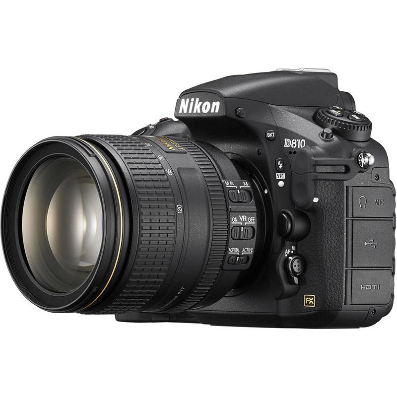 دوربین عکاسی نیکون Nikon D810 با لنز ۱۲۰-۲۴ VR