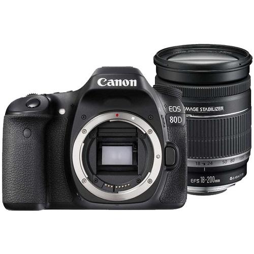 دوربین عکاسی کانن Canon 80D با لنز ۲۰۰-۱۸ IS