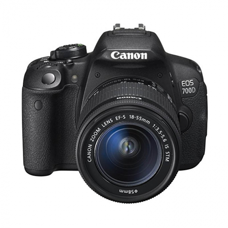 دیدنگار|دوربین کانن|دوربین عکاسی کانن Canon 700D (تایوان) با لنز 55-18 IS STM