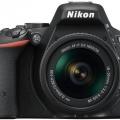 .دوربین عکاسی نیکون Nikon D5500 با لنز 55-18 VR