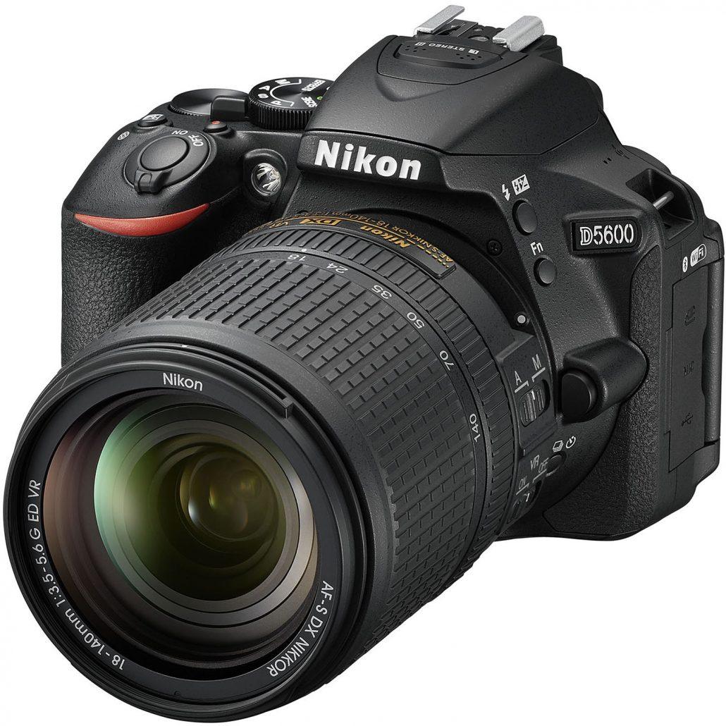 دوربین عکاسی نیکون Nikon D5600 با لنز 140-18 VR AF-S