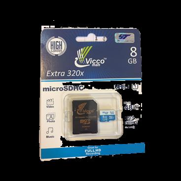 مموری میکرو اس دی ویکومن Micro SD Vicco man 48 MB 8GB