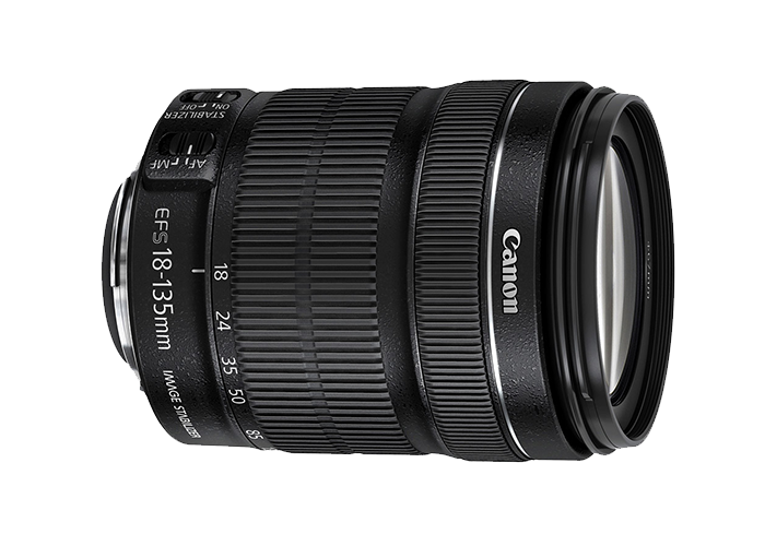 لنز دوربین عکاسی 135 میلیمتر کانن | Canon EF-S 18-135mm F/3.5-5.6 STM IS