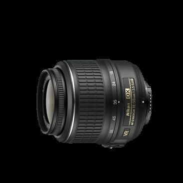 لنز تله/واید نیکون Nikon 18-55mm F/3.5-5.6 DX Nikkor Lens