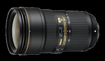 دیدنگار لنز نیکون nikon لنز Nikon AF-S Nikkor 24-70 mm F2.8E ED VR