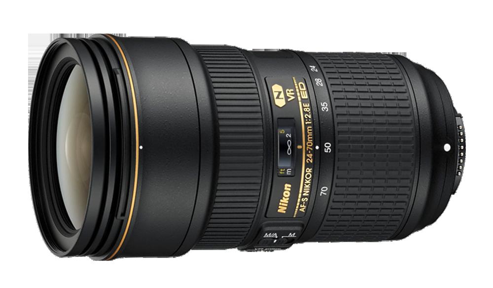 لنز Nikon AF-S Nikkor 24-70 mm F2.8E ED VR |