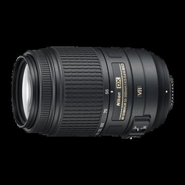 لنز تله/واید نیکون Nikon 55-300 mm F/4.5-5.6 Nikkor Lens