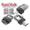 دیدنگار|فلش مموری|فلش مموری 64G سندیسک USB Flash M3 OTG Sandisk 64GB USB 3