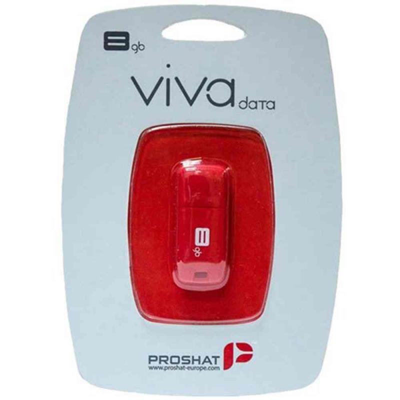 فلش مموری 8G پروشات USB Flash viva Proshat 8GB USB 2
