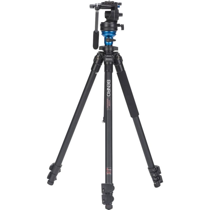سه پایه دوربین نیمه حرفه ای بنرو Benro Tripod A1573 FS2 S2