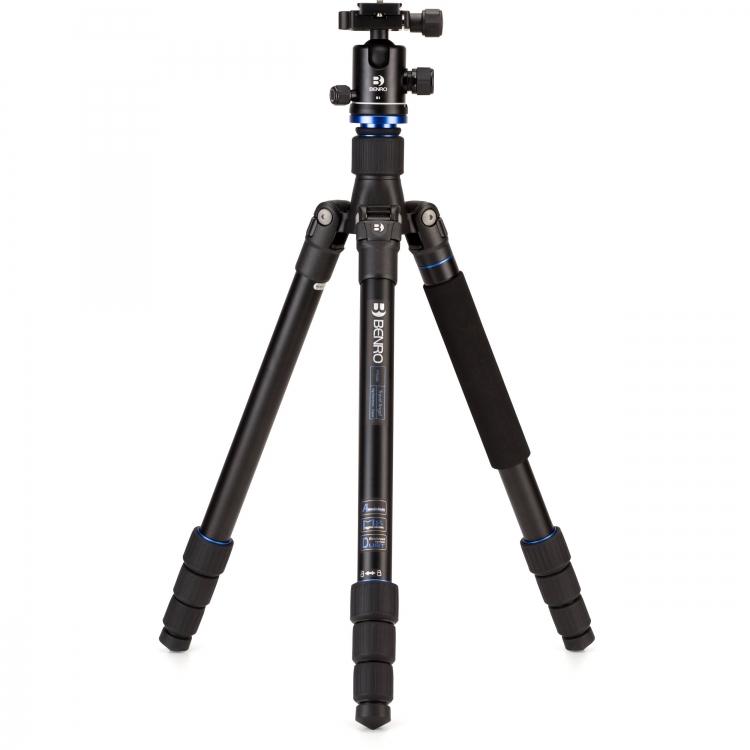 دیدنگار|سه پایه|سه پایه دوربین نیمه حرفه ای بنرو Benro Tripod A1682TB0 Aluminium