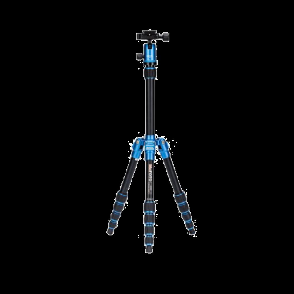 سه پایه دوربین نیمه حرفه ای فوتوپرو Fotopro Tripod C50i+52Q Blue