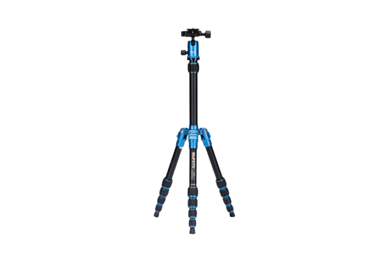 دیدنگار|سه پایه|سه پایه دوربین نیمه حرفه ای فوتوپرو Fotopro Tripod C50i+52Q Blue