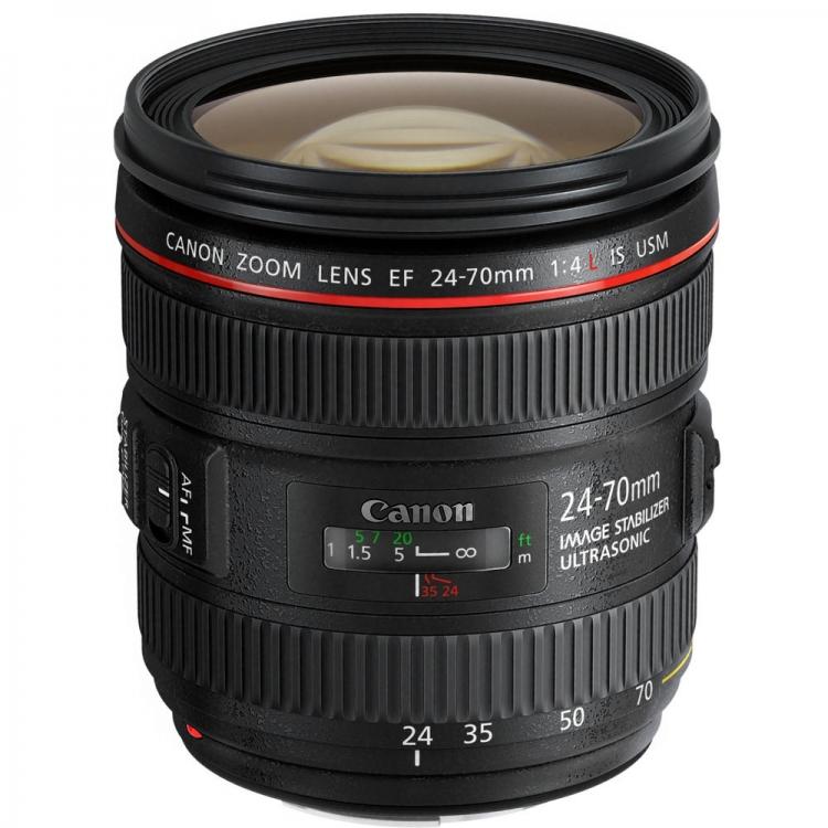دیدنگار|لنز کانن canon|لنز کانن Canon EF 24-70mm f/4L IS USM
