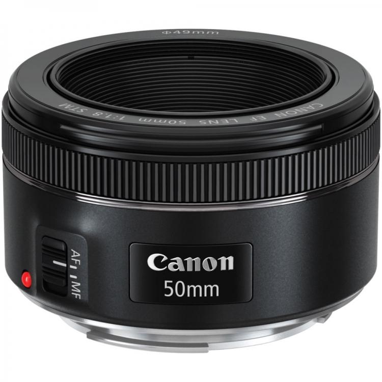 دیدنگار لنز کانن canon لنز کانن Canon EF 50mm f/1.8 STM
