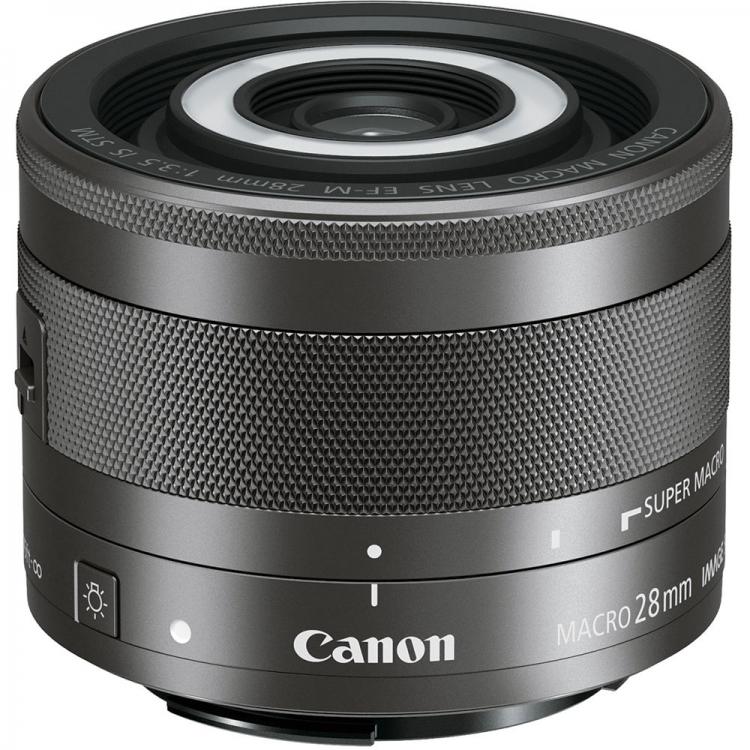 دیدنگار|لنز کانن canon|لنز کانن Canon EF-M 28mm F3.5 Macro IS STM