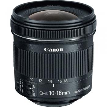 لنز کانن Canon EF-S 10-18mm f/4.5–5.6 IS STM