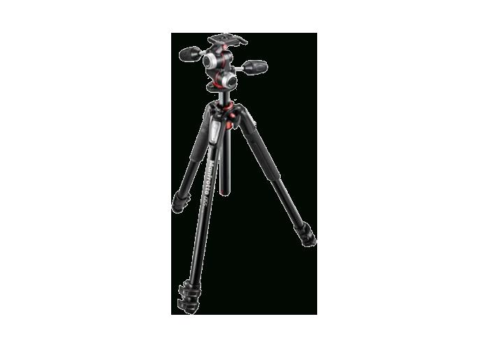 دیدنگار سه پایه سه پایه دوربین حرفه ای مانفروتو Manfrotto Tripod MK055XPRO3-3W