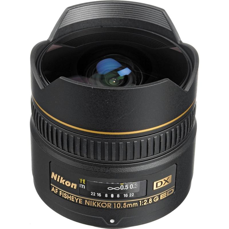 لنز Nikon AF DX Fisheye-Nikkor 10.5 mm f/2.8G ED