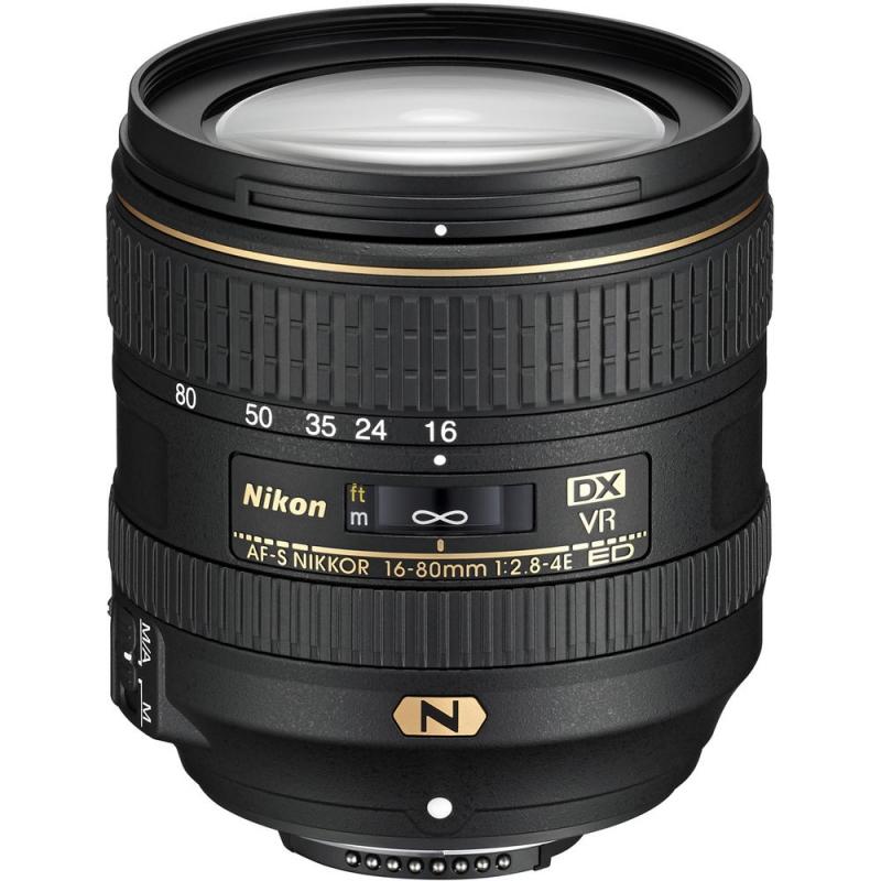لنز Nikon AF-S DX Nikkor 16-80 mm F2.8-4E ED VR