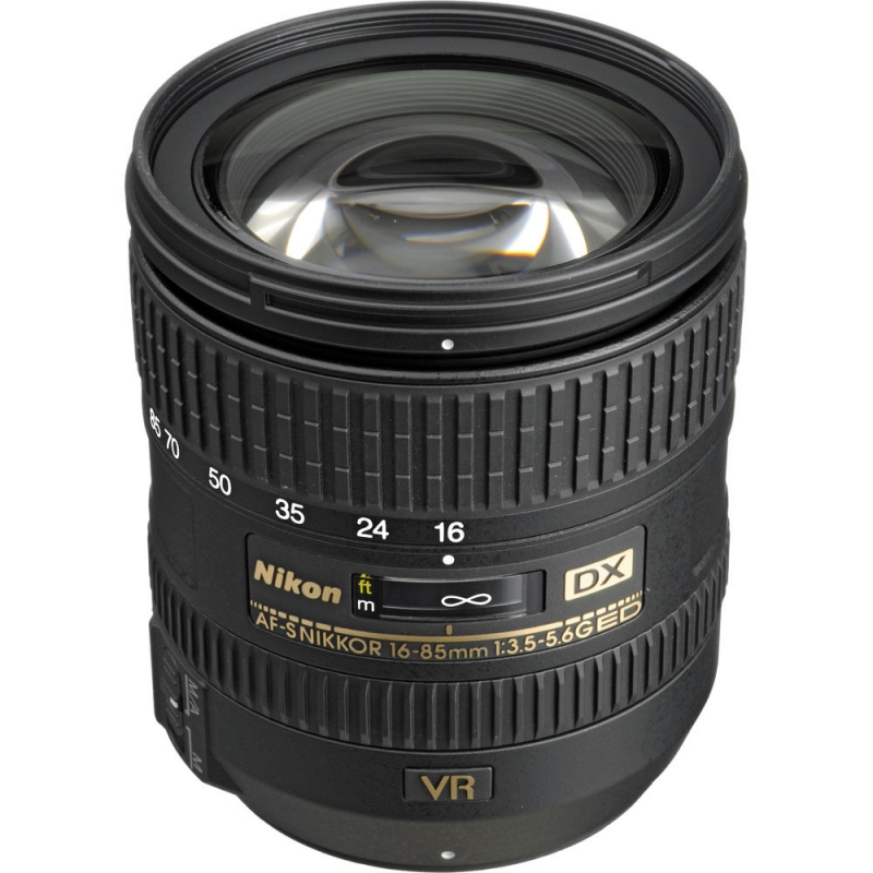 لنز Nikon AF-S DX Nikkor 16-85 mm f/3.5-5.6G ED VR