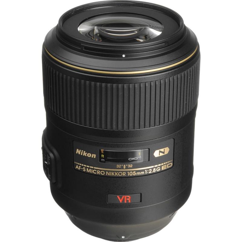 لنز Nikon AF-S Micro-Nikkor 105 mm f/2.8G IF-ED VR