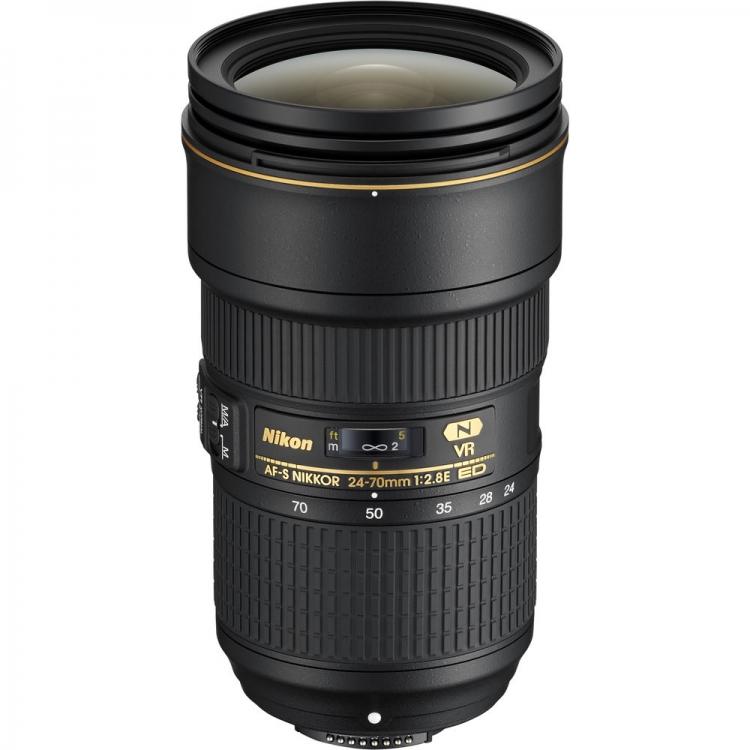 دیدنگار|لنز نیکون nikon|لنز Nikon AF-S Nikkor 24-70 mm F2.8E ED VR
