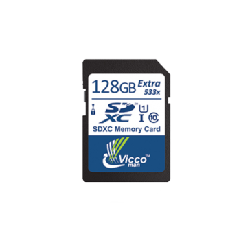 مموری اس دی ویکومن Memory SD Vicoo man 128GB 533X