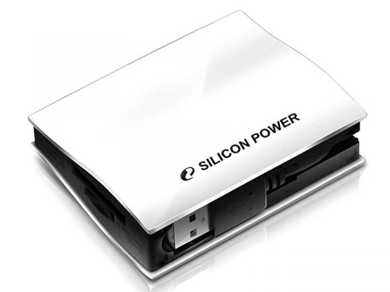 دیدنگار مموری ریدر رم ریدر رم ریدر سیلیکون پاور Silicon Power USB 2 Card Reader