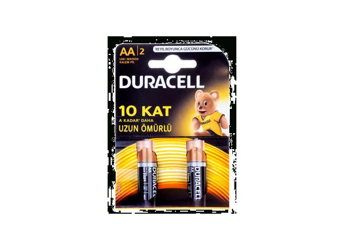 باتری قلمی آلکالاین دوراسل Duracell Alkaline Battery 2xAA