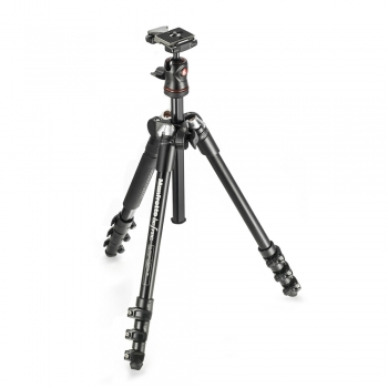 دیدنگار سه پایهسه پایه دوربین حرفه ای مانفروتو Manfrotto Tripod MKBFRA4-BH Befree Compact Travel Photo