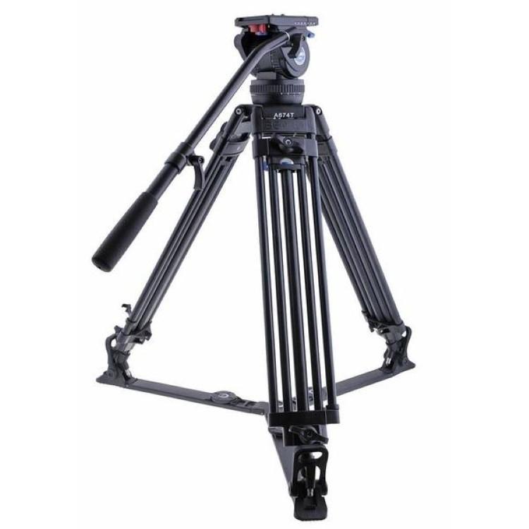 دیدنگار|سه پایهسه پایه دوربین حرفه ای بنرو Benro Tripod Video A674TH10