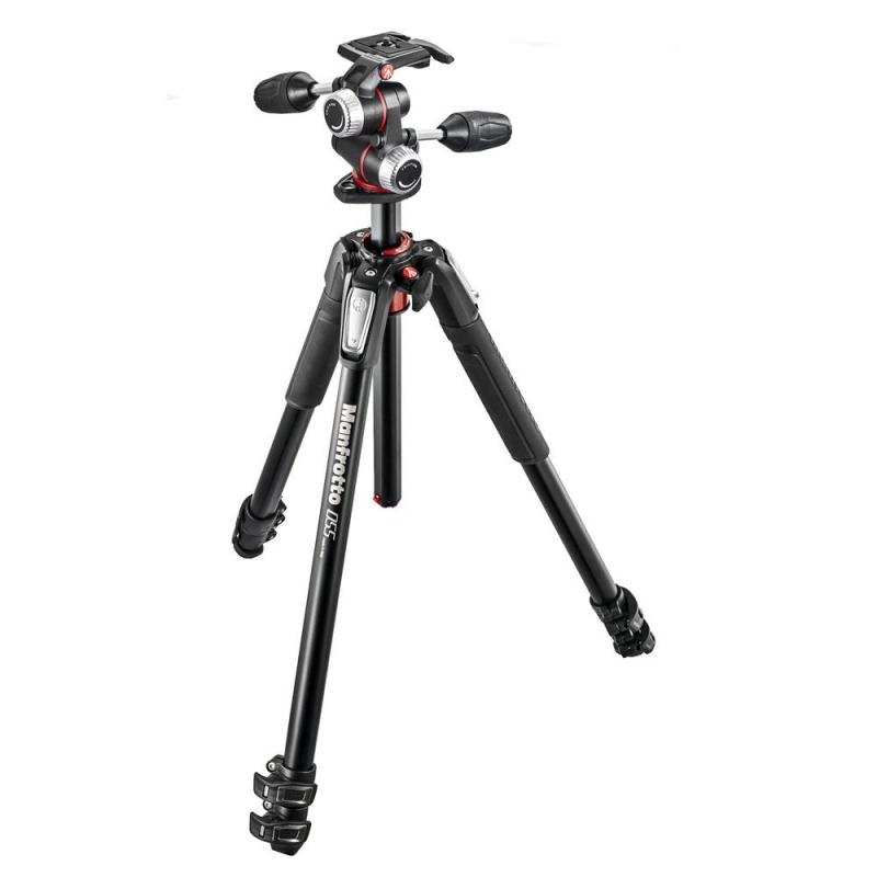 سه پایه دوربین حرفه ای مانفروتو Manfrotto MK055XPRO3-3W