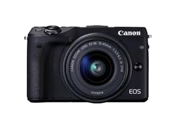 دوربین بدون آینه کانن Canon EOS M3 Mirrorless با لنز 45-15