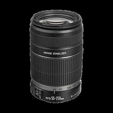 لنز تله/واید کانن Canon EF S55-250mm f/4-5.6 IS Lens