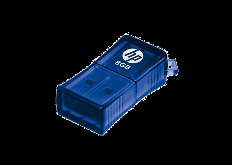 دیدنگار|فلش مموری|فلش مموری 8G اچ پی USB Flash V165W HP 8GB USB 2