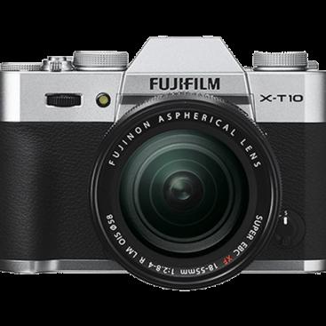 دوربین عکاسی بدون آینه فوجی فیلم Fujifilm X-T10 18-55mm