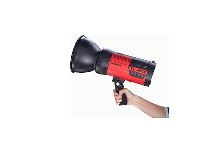فلاش چتری پرتابل 680 ژول NiceFoto Flash TTL 680C