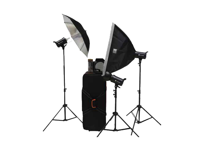 S&S by Visico 300J Studio Flash Kit TB-300