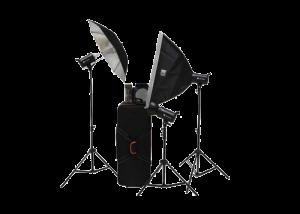 S&S by Visico 300J Studio Flash Kit TB-300