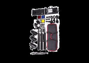 کیت فلاش استودیویی فوتیکس Phottix Three 220w Studio Flash Lights + Stands/Softbox/Umbrellas