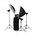 .کیت فلاش استودیویی اس اند اس S&S 300J Studio Flash Kit VT-300