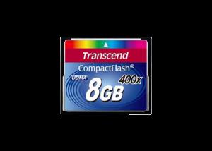 دیدنگار|کامپکت فلش|کامپکت فلاش ترنسند CF Transcend 8GB 400X