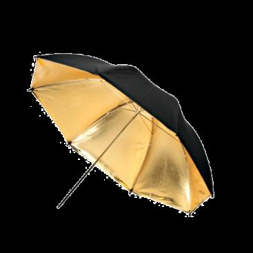 چتر استودیویی با قطر ۱۰۱ سانتیمتر Fomex 101cm Gold Umbrella