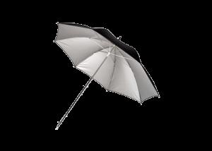 دیدنگار|چتر آتلیه|چتر آتلیهای نقرهای با قطر ۹۰ سانتیمترHama Umbrella Silver 90 cm