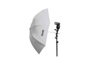 "چتر سفید جمع‌شو (قطر 91سانتی‌متر) Phottix Double-Small Folding White Shoot-Through Umbrella 36"" (91cm)"