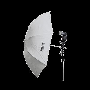 """چتر سفید جمعشو (قطر 91سانتیمتر) Phottix Double-Small Folding White Shoot-Through Umbrella 36"""" (91cm)"""
