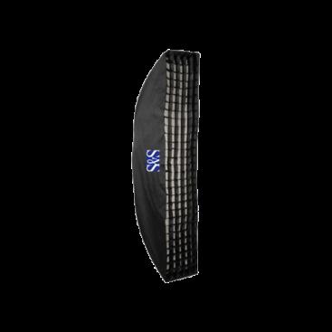 سافتباکس واید ۱۳۰ × ۵۰ سانتیمتری S&S 50x130cm Softbox with Grid
